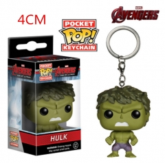Funko POP The Hulk Anime Figure Keychain