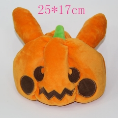 Pumpkin Anime Plush Hat
