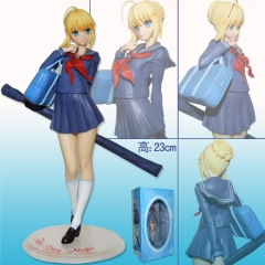 Fate Stay Night Saber Master Anime Figure 18CM