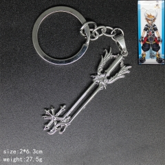 Popular Style Kingdom Hearts Anime Alloy Fancy Keychain
