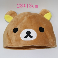 Rilakkuma Anime Plush Hat 28*18cm