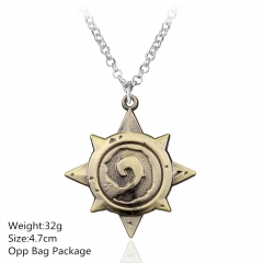 Hearthstone: Heroes of Warcraft Alloy Anime Necklace (10pcs/set)