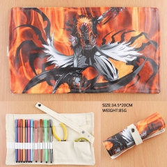 Bleach For Student Rolled-up PU Anime Pencil Bag