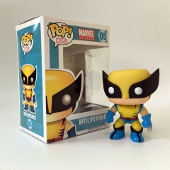 Funko POP Marvel Wolverine Cartoon Toys X-Men Anime Action Figure 05#