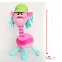Trolls Cartoon Stuffed Doll Cute Design Anime Plush Toys 30CM