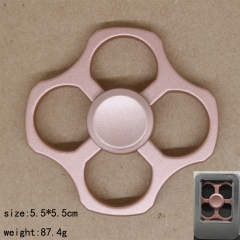Square Pink Anime Hand Fidget Spinner