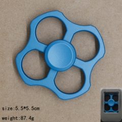 Square Blue Anime Hand Fidget Spinner