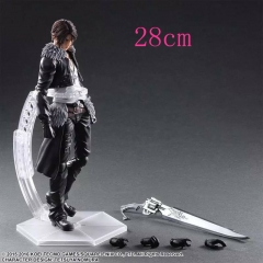 Final Fantasy Squall Leonhart Japanese PVC Bauble Anime Figure(28cm)