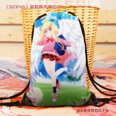 Gabriel DropOut Cartoon Backpack Canvas Anime Drawstring Bag