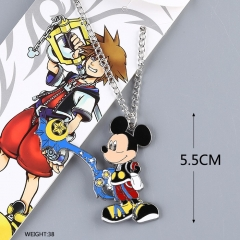 Kingdom Hearts Cartoon Figure Pendant Anime Necklace