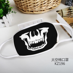 The Skeleton Color Printing Space Cotton Material Anime Mask