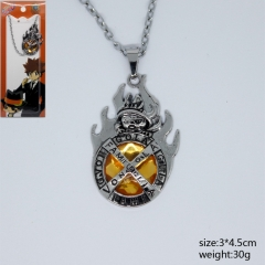 Hitman Reborn Anime Japan Teenager Comic Yellow Fancy Necklace