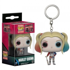 Funko POP Suicide Squad Harley Quinn Anime Figure Keychain