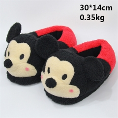 Disney Cartoon Anime Minnie Mouse Plush Soft Slipper