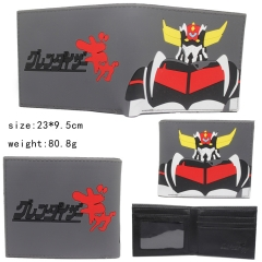 Grendizer Gray Color Silicone Anime Wallet