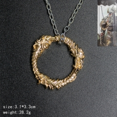 Game The Elder Scrolls Anime Metal Fancy Designs Necklace