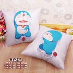 Doraemon Two Sides Chair Cushion Anime Holding Pillow 45CM