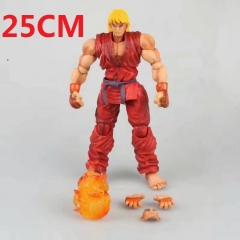 PA Super Street Fighter IV  KEN Cartoon Toy 25CM Anime Figure
