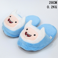 Adventure Time Cosplay Indoors Warm Anime Plush Slipper