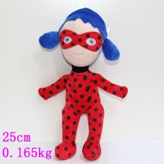 Miraculous Ladybug Magic Girl Doll Anime Cartoon plush toy