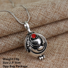 Vampire Diaries Verbena Silver Alloy Anime Necklace (10pcs/set)