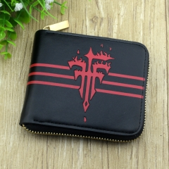 FFF For Adult High Quality Zipper Purse Anime Wallet