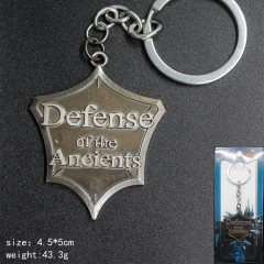 Game Of Warcraft Anime Silvery Color Mark Keychain