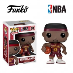 Funko POP NBA Mindstyle Red LeBron JamesPlastic Action Figure Toy  #01
