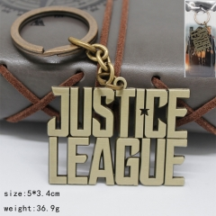 Justice League Bronze Anime Keychain