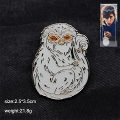 Fantastic Beasts And Where To Find Them Anime Brooch