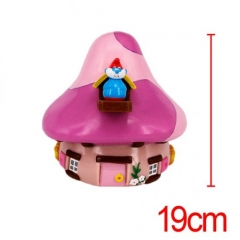 The Smurfs Pink Mushroom Cute Designs Anime Money Pot For Kid