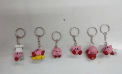 Kirby Collectable Toy Pendant Anime Figure Keychain (Set)
