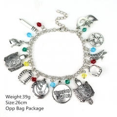 Vampire Diaries Alloy Anime Bracelet Best Gift For Women (10pcs/set)