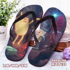 Adventure Time Soft Rubber Slippers Anime Flip-flops