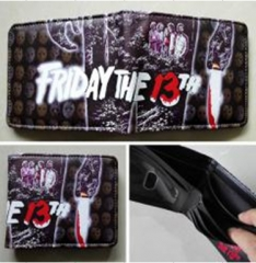 Friday the 13th Movie PU and Leather Wallet