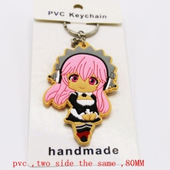 Super Sonico  Anime Keychain (5pc Per Set)8CM
