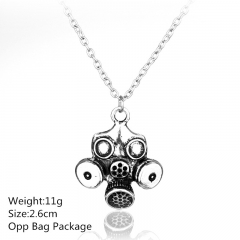 Doctor Who Gas Mask Alloy Anime Necklace (10pcs/set)
