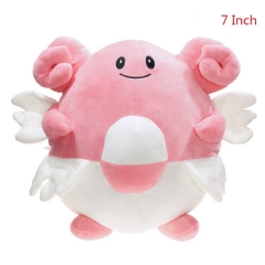 Pokemon Blissey Cartoon Toys Soft Suffed 7 Inch Anime Plush Toy