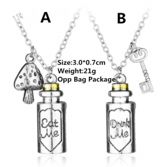 Alice in Wonderland Anime Necklace(10pcs/Set)