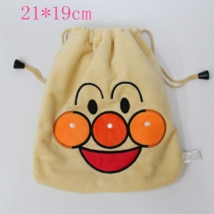 Anpanman Anime Plush Bag
