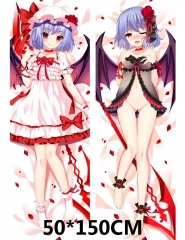 Touhou Project Anime Cartoon Game Sexy Girl Printed Soft Long Pillow +Pillow Inner 50*150cm