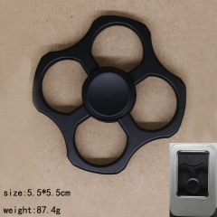 Square Black Anime Hand Fidget Spinner