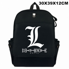 Death Note For Student Cosplay Canvas Anime Backpack Bag