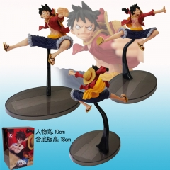 One Piece Luffy Funny Cartoon Toys Action PVC Japanese Anime Figure
