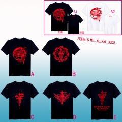 5style 2 Colors FFF Anime Tshirts