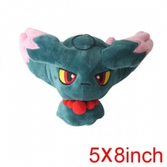 Pokemon Muma Misdreavus Cartoon Doll Japanese Soft Anime Plush Toys 5*8Inch