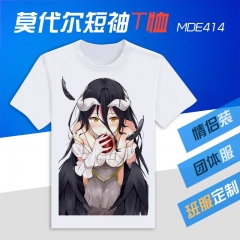 Overlord Cosplay Cartoon Modal Simple Pattern Anime T shirts