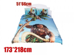 Moana Movie Bedclothes Anime Quilt Cover