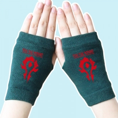 World of Warcraft Red Marks Atrovirens Anime Gloves 14*8CM