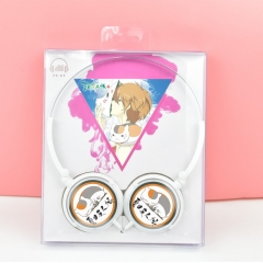 Natsume Yuujinchou Cosplay Cartoon For Listening With Headset Anime Headphone